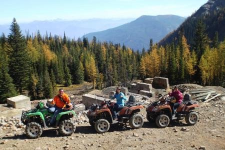 ATV Tours - Toby Creek Adventures